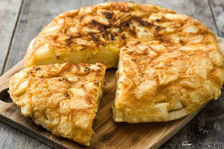 Spāņu omlete– tortilja