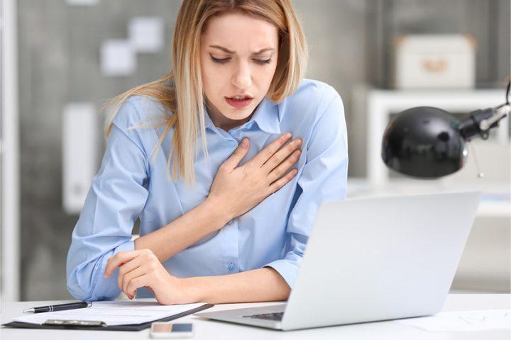 Paaugstināts stresa līmenis darbā rada sirds ritma traucējumus